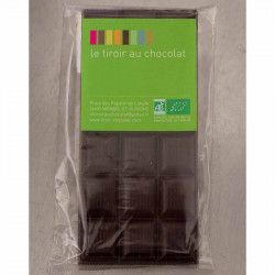 TABLETTE DE CHOCOLAT NATURE A 75 %